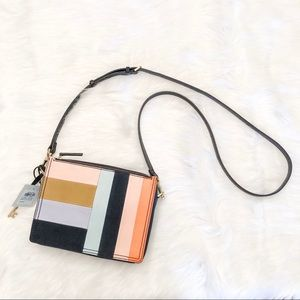 Fossil Crossbody Campbell Bright Patchwork